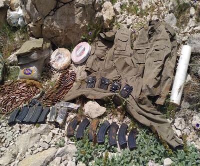 Diyarbakır'da PKK'nın lav silahı ve uyuşturucu ele geçirildi
