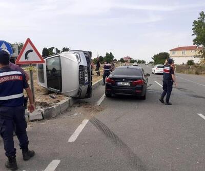 Uzunköprü'de trafik kazası: 4 yaralı