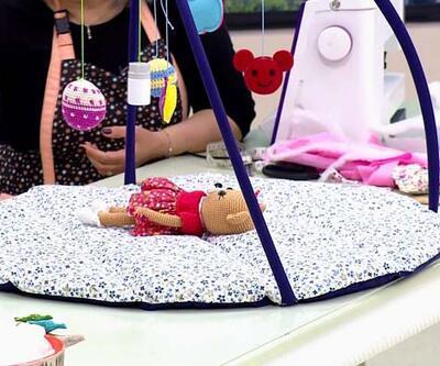Pratik ve kullanışlı bebek aktivite minderi