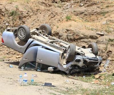500 metre arayla iki kaza: 4 yaralı