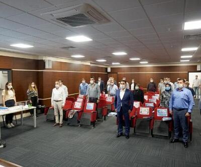 Marmara Ereğlisi'nde, sosyal mesafeli meclis toplantısı