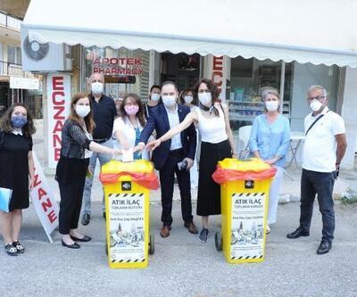 Balçova'da atık ilaçlar çevreye zarar vermeyecek
