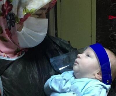 17 günlük bebek virüsü yendi | Video