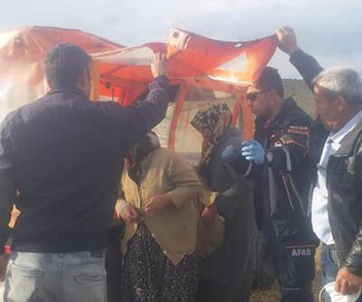 Yaylada mahsur kalan 6 kişi kurtarıldı