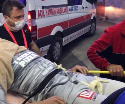 Muslera hastaneye kaldırıldı | Video