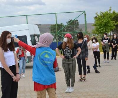 Ahi Evran Gençlik Kampı, öğrencileri ağırlamaya başladı
