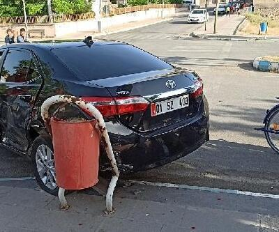 Gercüş'te hafif ticari araç ile otomobil çarpıştı