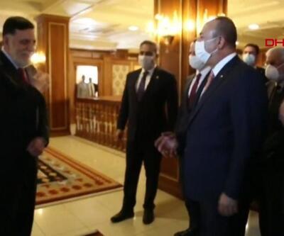 Türk heyeti Libya'daydı   Video