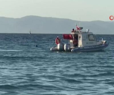 Hesabı ödememek için denize atladı | Video