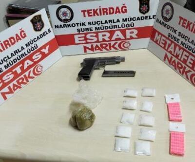 Tekirdağ'daki uyuşturucu operasyonlarında 8 gözaltı