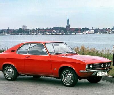 Opel'in balığıManta 50 yaşında