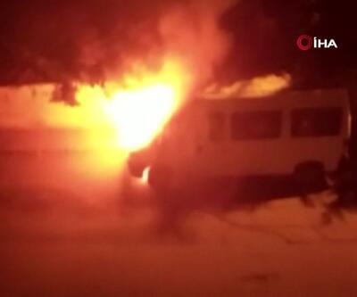 Otomobil alev topuna döndü | Video