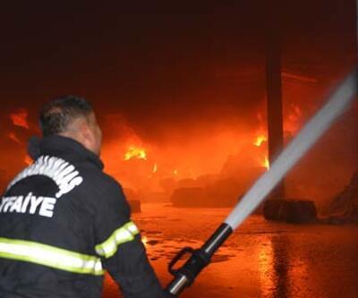 Kahramanmaraş'ta tekstil fabrikasında yangın!