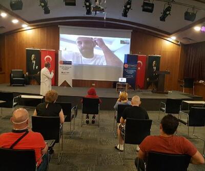 Vedat Muriç Kosovalı ailelere moral verdi