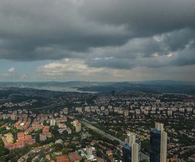 Son dakika: İstanbul'da kara bulutlar her yeri kapladı!