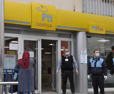 Karantinaya alınan PTT şubesi açıldı