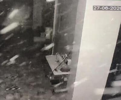 Bahçelievler'de tekstil atölyesinde patlama kameralarda   Video