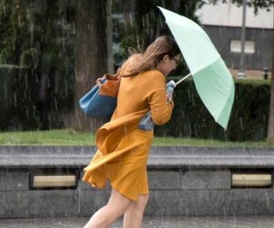 Son dakika... Meteoroloji'den gök gürültülü sağanak yağış uyarısı