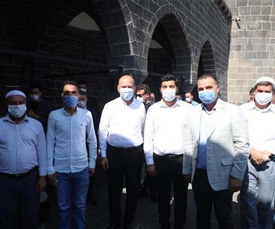 Bakan Soylu, Diyarbakır'ın tarihi mekanlarını gezdi