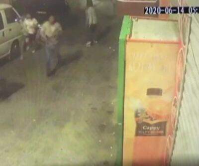 Cinayet anına ait görüntüler ortaya çıktı   Video