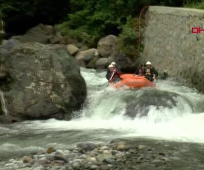 Tunca Vadisi'nde yeni rafting parkuru açıldı | Video