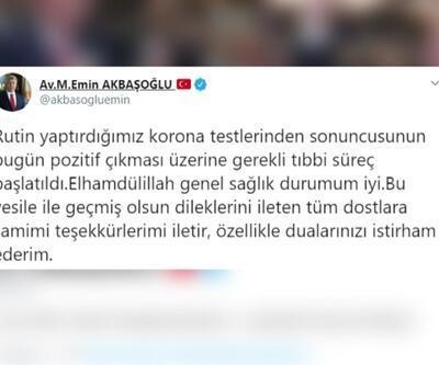 AK Parti Grup Başkanvekili Akbaşoğlu koronavirüse yakalandı   Video