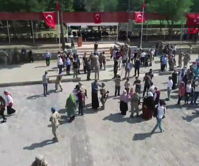 Son dakika... Resulayn'a gidecek askerler için tören düzenlendi | Video