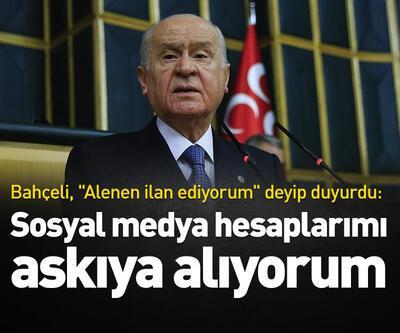 MHP Lideri Bahçeli'den 'sosyal medya' tepkisi