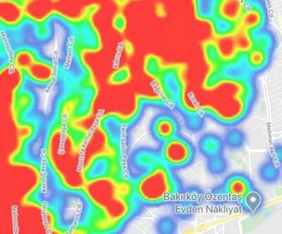 Son dakika... İşte ilçe ilçe İstanbul ve Ankara'nın koronavirüs yoğunluk haritası