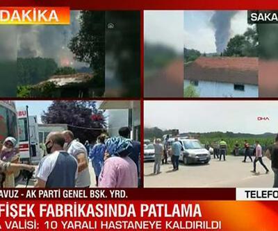 Sakarya'daki patlamayla ilgili açıklama!