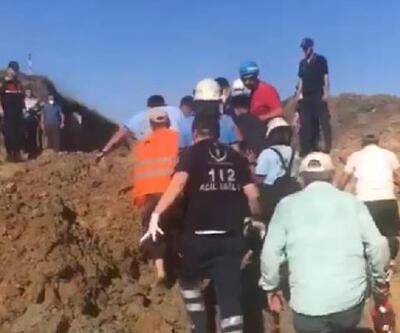 Son dakika... Arıtma tesisi inşaatında göçük: 1 işçi öldü