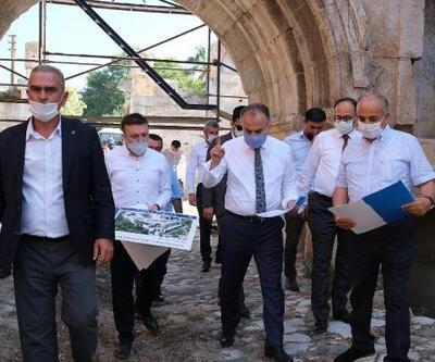 İznik'te tarihi yapı eski ihtişamına kavuşuyor