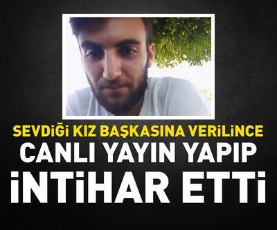 Sosyal medyada canlı yayın yapıp intihar etti