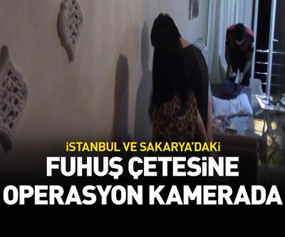 İstanbul ve Sakarya'daki fuhuş çetesine operasyon