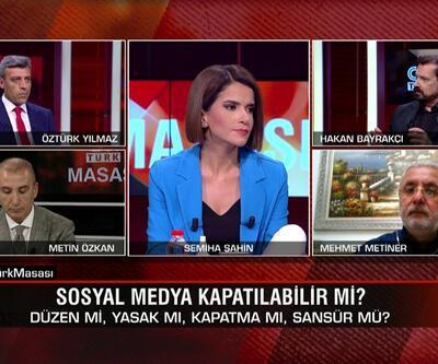 Sosyal medyaya düzen mi yasak mı? Çoklu baroyu kim istiyor, kim karşı? Ayasofya 15 Temmuz'da mı açılacak? CNN TÜRK Masası'nda tartışıldı