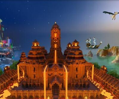 Minecraft RTX modunda fark yaratıyor