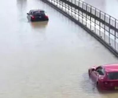 Londra sokakları göle döndü