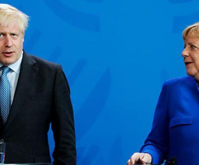 İngiltere Başbakanı Johnson, Alman mevkidaşıyla görüştü