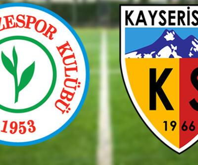 Rizespor Kayserispor maçı canlı yayın hangi kanalda, saat kaçta izlenecek?