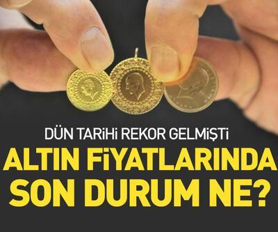 Altın fiyatları 400 lirayı aştı!