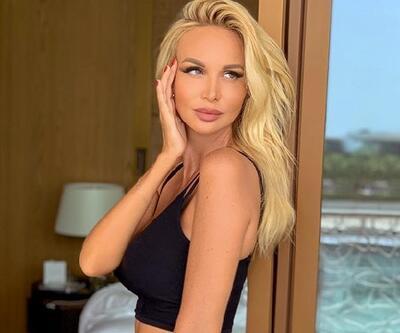 Rus model Türkiye'ye geldi