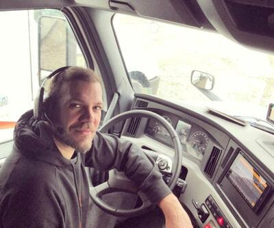 ABD'de TIR şoförlüğü yapan Tolga Karel taşınacağını açıkladı