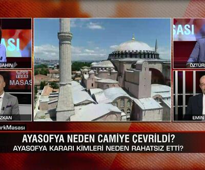 Ayasofya neden camiye çevrildi, sonuçları ne olur? İmamoğlu İBB'ye neden Çağlar'ı atadı? CNN TÜRK Masası'nda tartışıldı