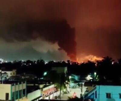Hindistan'da korkutan yangın: 4 yaralı