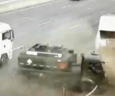 Son Dakika Haberleri: Rusya'da feci kaza kamerada | Video