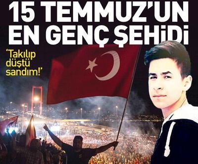 15 Temmuz'un en genç şehidi: Halil İbrahim Yıldırım