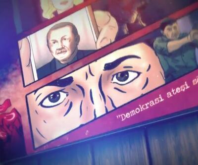 Darbe girişiminde yaşananlar çizgi romanla anlatıldı