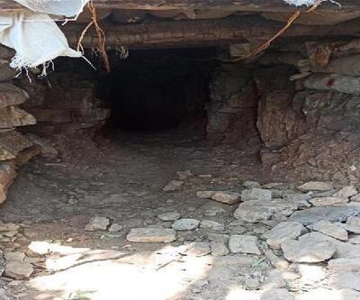MSB: 1200 metre uzunluğundaki tünelde ele geçirilen malzemeler imha edildi