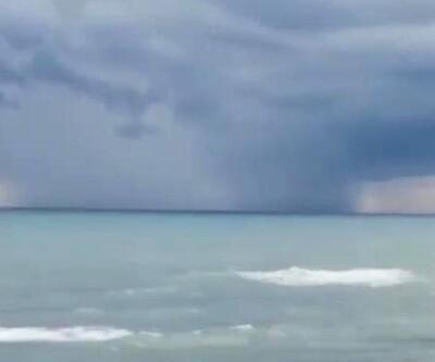 Son Dakika Haberi: Karadeniz'deki hortum anı kamerada | Video