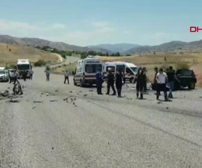 Son dakika... Tunceli'de yolcu taşıyan midibüs devrildi! Yaralılar var | Video